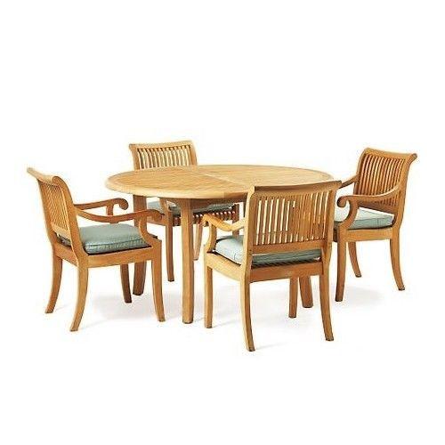 KUTA SMALL TEAK DINING SET - II