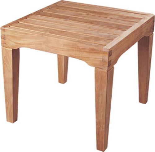 S&H teak side table