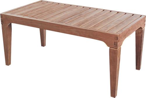S&H teak coffee table