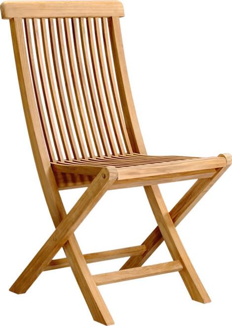Low price teak folding chair.