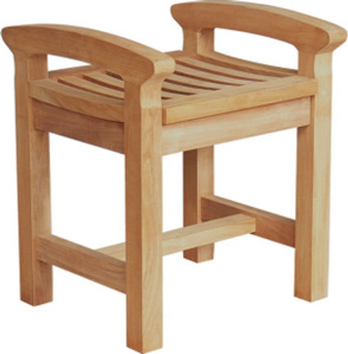 teak childrens stool