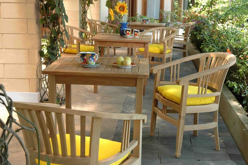 CAPTAINS TEAK DINING SET  - out of stock