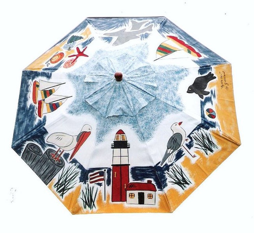 ART UMBRELLA - BY THE SEA