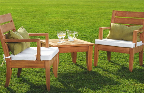 DIAVILLA TEAK CHAT SET
