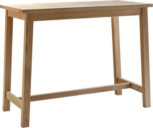 Rectangular Teak Bar Table