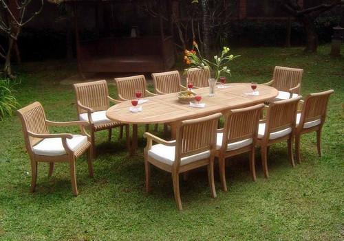 KUTA TEAK DINING SET - 10 seat - IV
