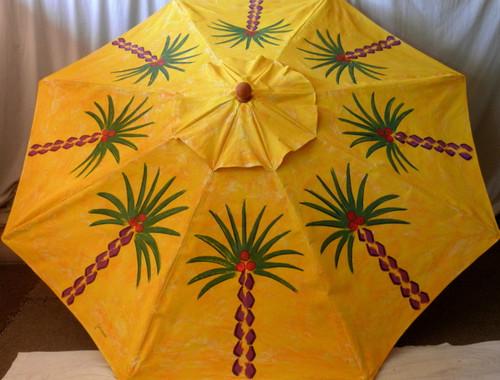 ART UMBRELLA - SUNSHINE PALMS