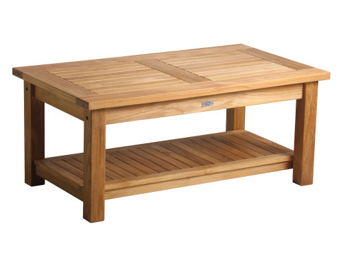 DNI RECTANGULAR COFFEE TABLE W/ DBLE SHELF