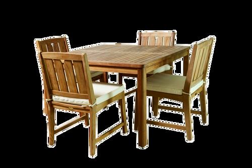 KONA TEAK DINING SET (4 seat) + FREE GIFT