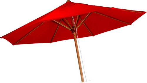 GENUINE 8' TEAK UMBRELLA - SUNBRELLA COLORS - out of stock