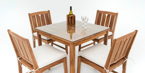 KONA GLASS COVER - Bistro Table