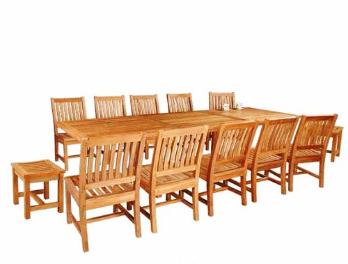 AVALON TEAK DINING SET - I