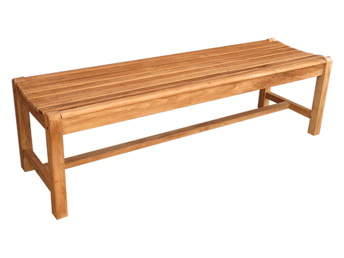 SPRINGFIELD BACKLESS BENCH 4' (lot of 4)