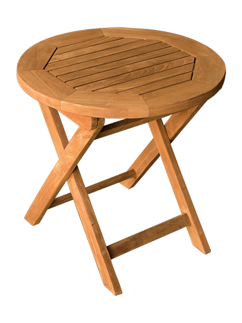 SMALL ROUND SIDE PICNIC TABLE (lot of 4)