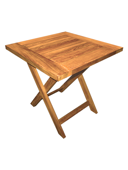 SMALL SQUARE SIDE PICNIC TABLE (lot of 4)