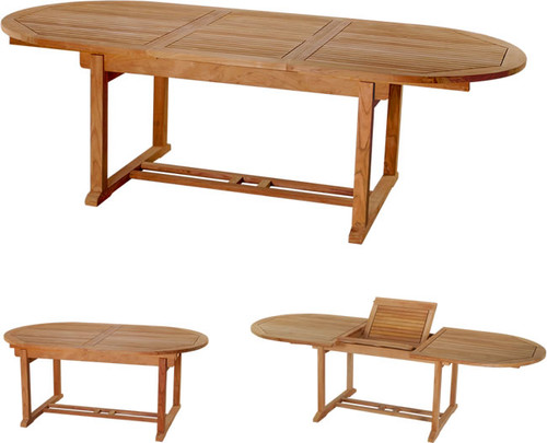 OVAL EXTENSION TABLE 94