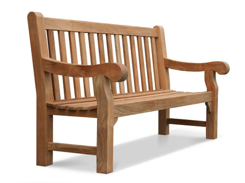 DNI Heavy Teak Park Bench - out of stock
