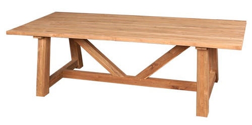 TUSCANY RECTANGULAR TABLE - RECLAIMED TEAK WOOD