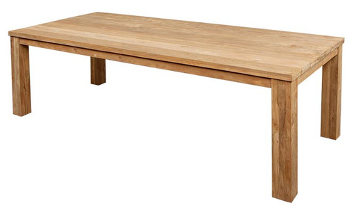 SAVANNAH RECTANGULAR TABLE - RECLAIMED TEAK WOOD