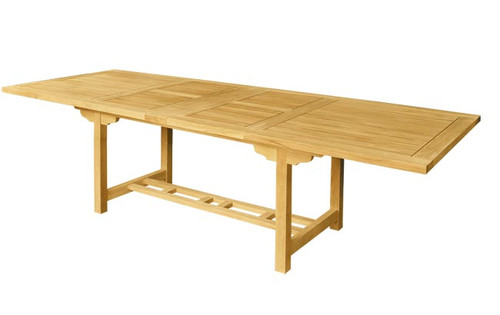 RAVEN DOUBLE RECTANGULAR EXTENSION COUNTER HEIGHT TABLE XX
