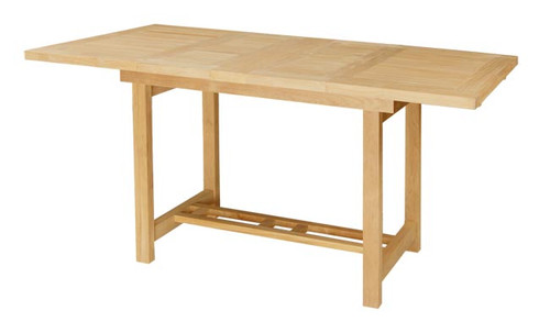 SPRINGDALE DOUBLE RECTANGULAR EXTENSION COUNTER HEIGHT TABLE XX