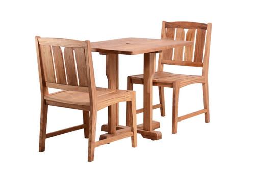 (2 seat) KONA TEAK CAFE SET - Coachella Valley Sale