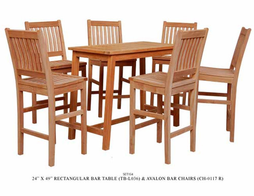 7-PC  AVALON BAR SET
