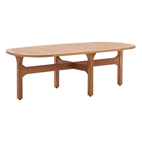 MOD OVAL COFFEE TABLE