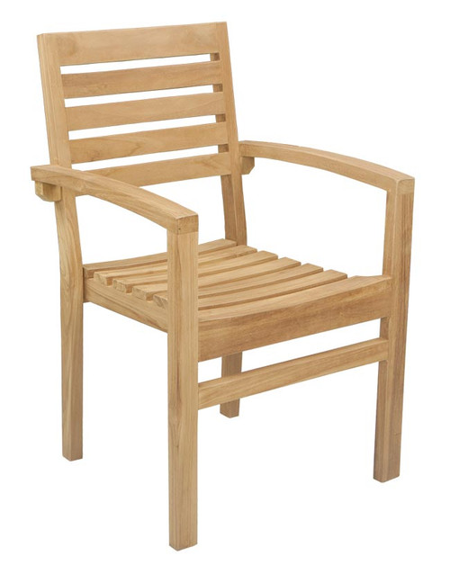 MANNING STACKING ARM CHAIR - out of stock