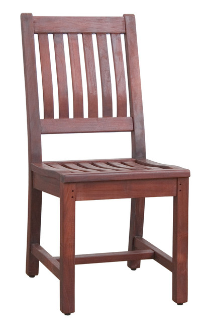 FLORENCE SIDE CHAIR - color CHOCOLATE ESPRESSO - Pair of (2)