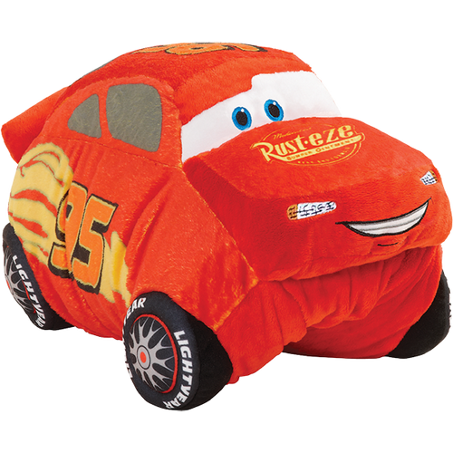 Jumboz Lightning Mcqueen Pillow Pet 30 Folding Plush Pillow