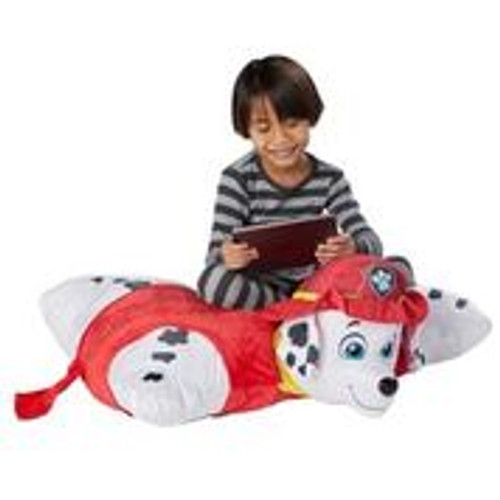 Nickelodeon Paw Patrol Jumboz Marshall Pillow Pet with boy