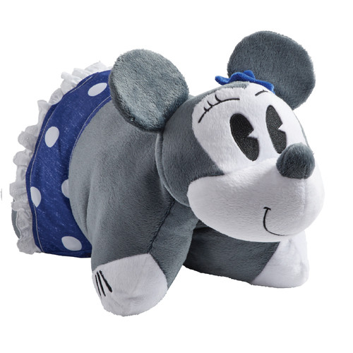 Disney Denim Minnie Mouse Pillow Pet