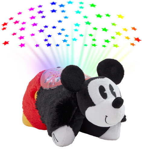 Disney Retro Mickey Mouse Sleeptime Lite with colorful stars