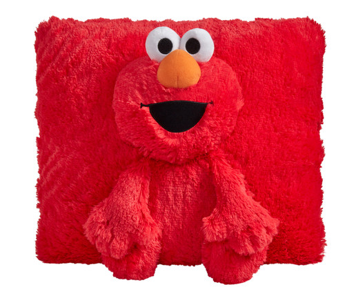 Elmo Pillow Pet unfolded