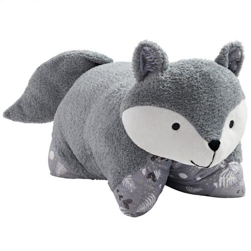 Comfy Fox Pillow Pet - Folded