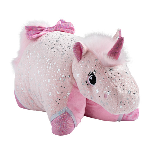 Sparkly Pink Unicorn - Folded