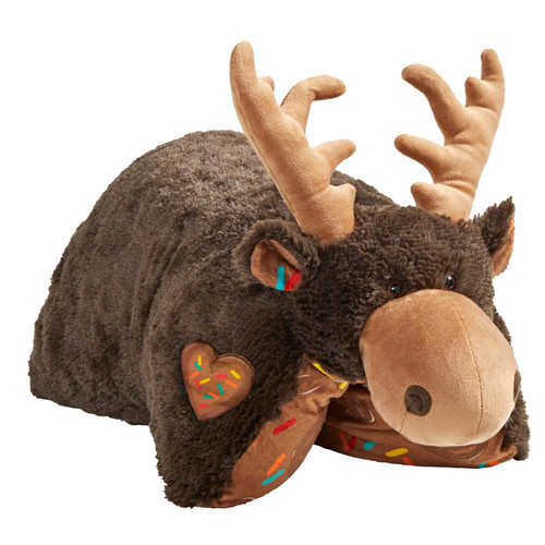 COMING SOON! Sweet Scented Chocolate Moose Pillow Pet