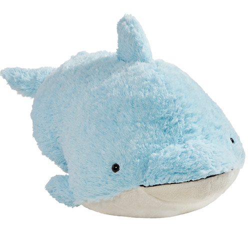 Squeaky Dolphin Pillow Pet