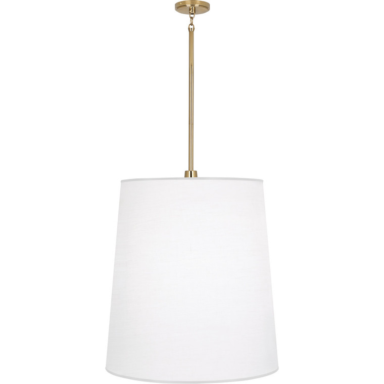 Robert Abbey Rico Espinet Buster Pendant in Polished Brass Finish 2079W