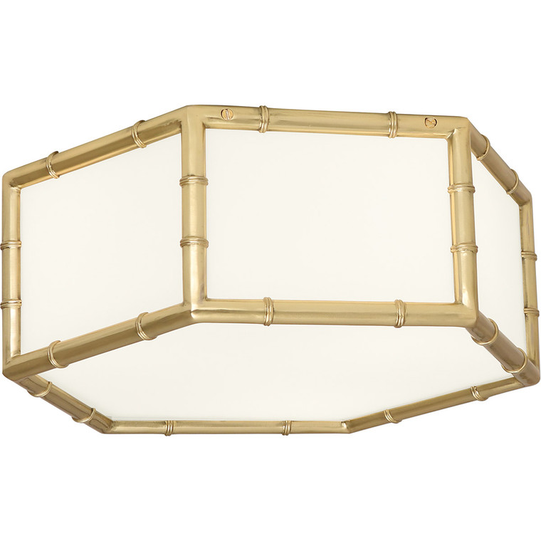 Robert Abbey Jonathan Adler Meurice Flushmount in Modern Brass Finish 763