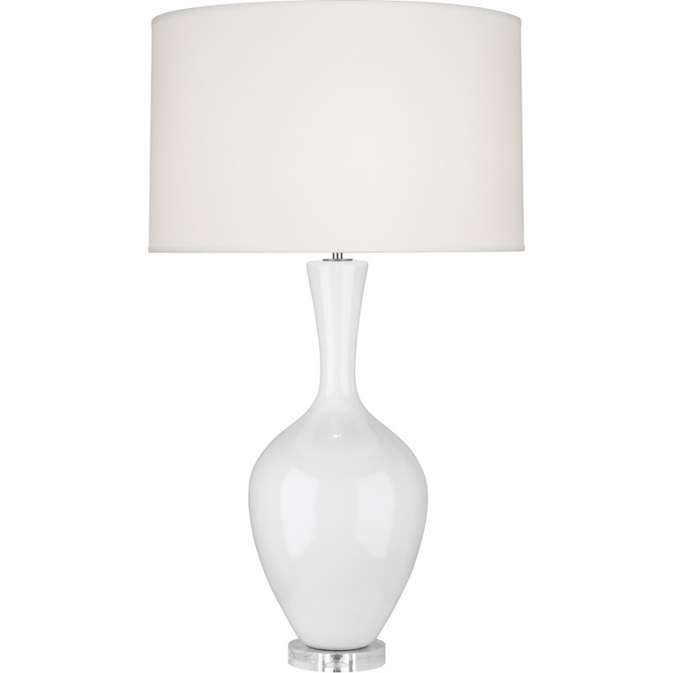 Robert Abbey Lily Audrey Table Lamp in Lily Glazed Ceramic LY980