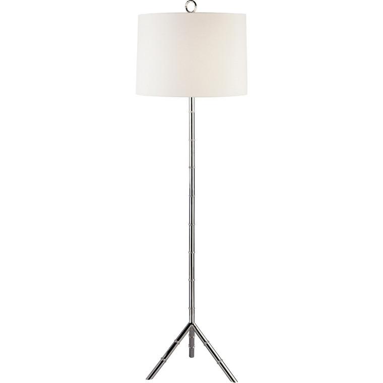 Robert Abbey Jonathan Adler Meurice Floor Lamp in Polished Nickel S651