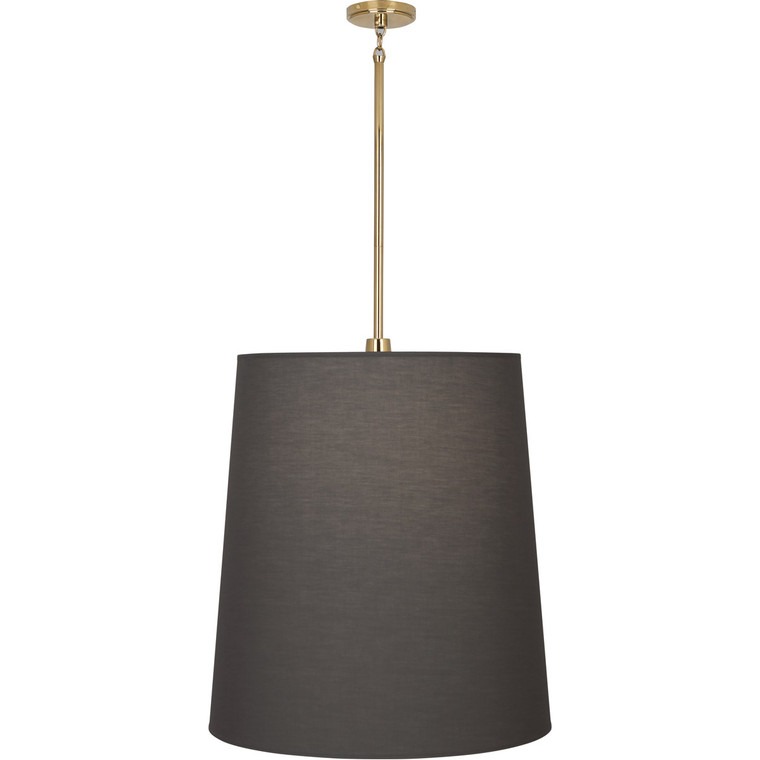 Robert Abbey Rico Espinet Buster Pendant in Polished Brass Finish 2079