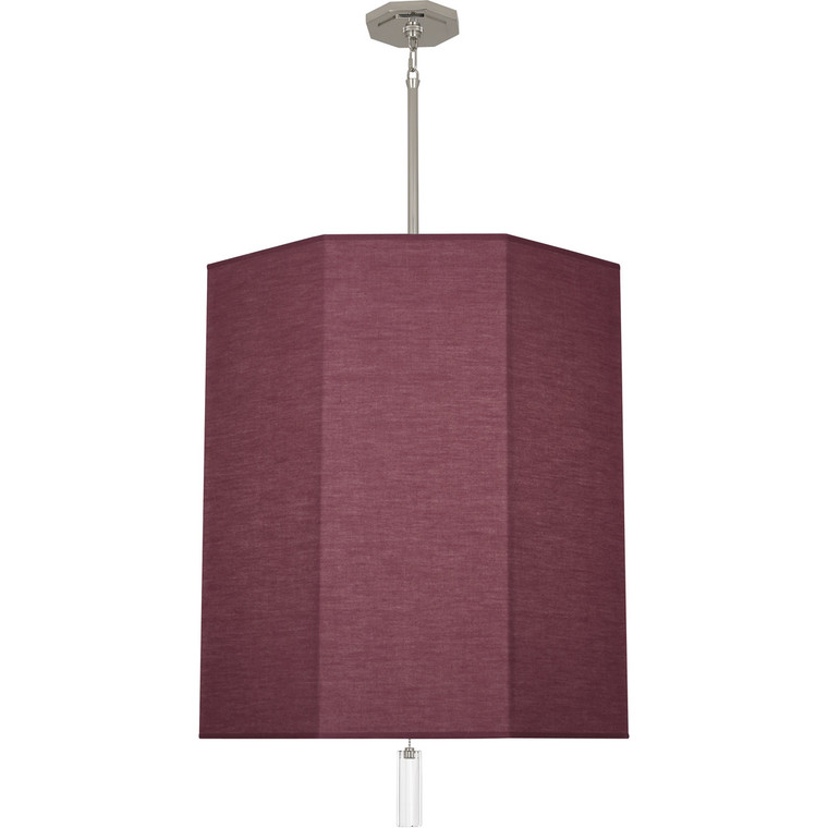 Robert Abbey Kate Pendant in Polished Nickel Finish VW203