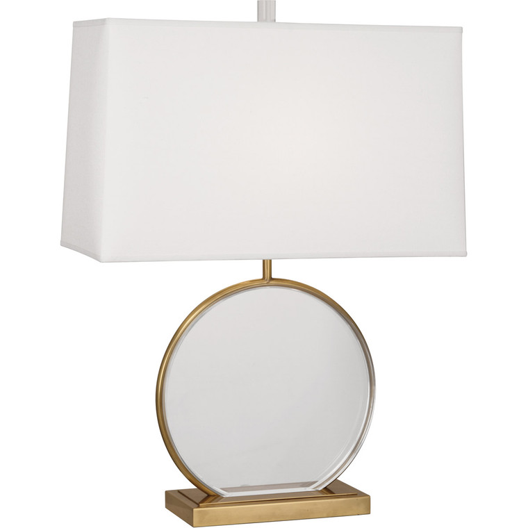 Robert Abbey Alice Table Lamp in Antique Brass Finish with Lucite Accents 3380