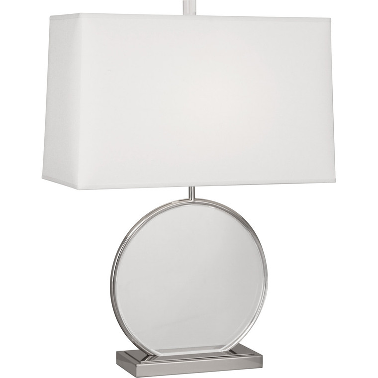 Robert Abbey Alice Table Lamp in Polished Nickel Finish with Lucite Accents S3380