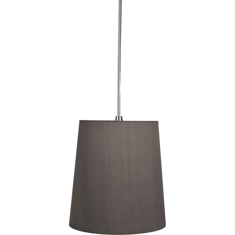 Robert Abbey Rico Espinet Buster Pendant in Polished Nickel Finish 2055G