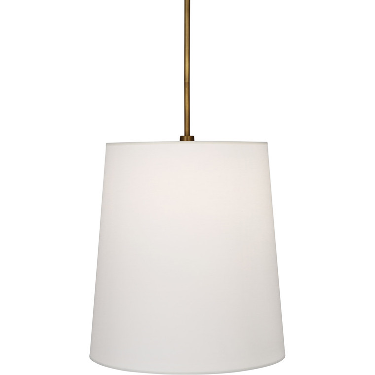 Robert Abbey Rico Espinet Buster Pendant in Aged Brass 2802W