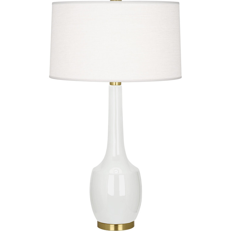 Robert Abbey Lily Delilah Table Lamp in Lily Glazed Ceramic LY701